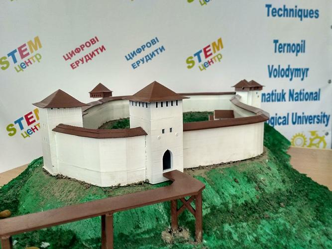 Студенти спеціальності «Інформатика» ТНПУ ім. В. Гнатюка створюють серію 3D-моделей замків Тернопільщини