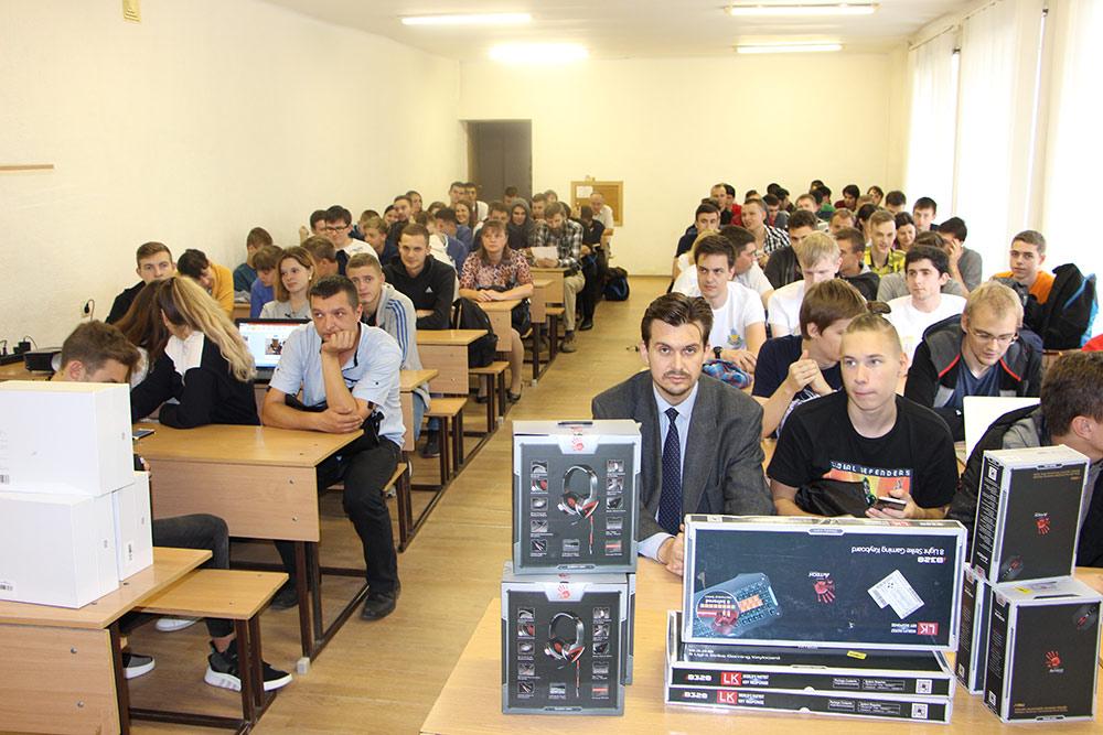 Основний тур ІІ етапу Всеукраїнської студентської олімпіади з програмування АСМ-ICPC Ukraine 2018.