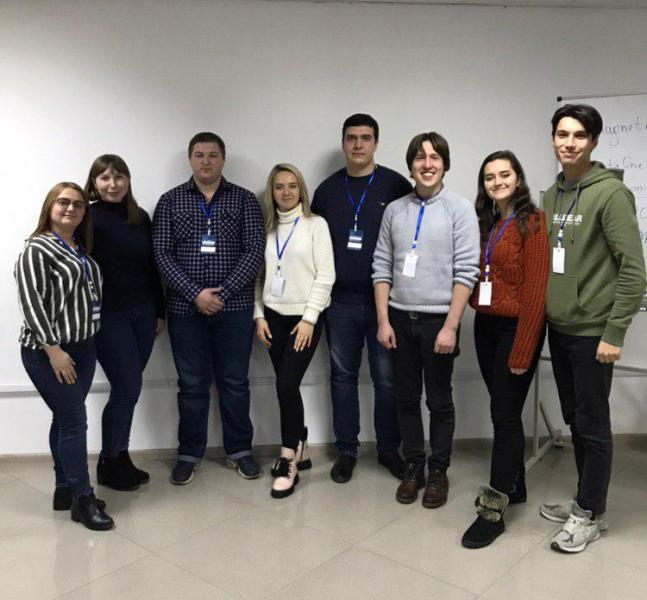 (Українська) Вітаємо наших інформатиків – переможців  першого Open Data Hackathon